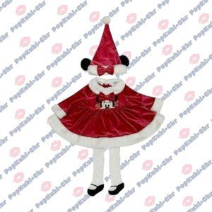 Minnie Mouse Holiday Dress & Hat Set for Baby 3-6M